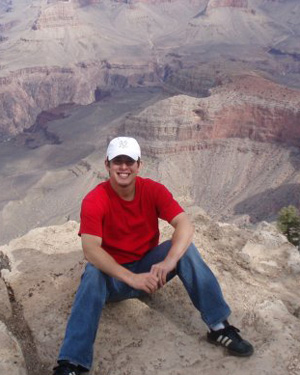 VetsFirst NSO Stephen Fricano taking in the sights at the Grand Canyon.