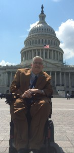 Terry Moakley on Capitol Hill. Terry serves as the chair of the VetsFirst committee.