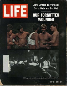 Life Magazine Cover from May 22, 1970 issue about the maltreatment of veterans at the Bronx VA Medical Center