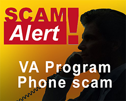 VA phone scam